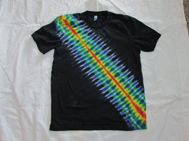 Large Mens Short Sleeve Tie Dye T-Shirt USA Made #78