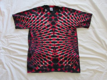 Large Mens Short Sleeve Tie Dye T-Shirt  #83