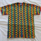 Large Mens Short Sleeve Tie Dye T-Shirt  #84