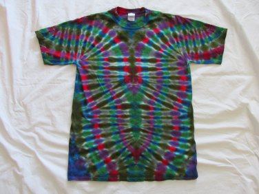 Large Mens Short Sleeve Tie Dye T-Shirt  #85