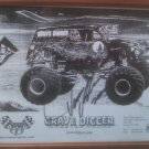 Dennis Anderson Driver GRAVE DIGGER MONSTER TRUCKS Autographed & Unframed 8x10 W/COA