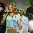 The Black Eyed Peas Signed by All 4 Members 16x20 Unframed Photo w/COA FERGIE, WILL.i.AM +2
