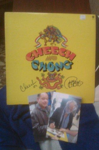 Cheech & Chong Duel Signed Album Cover W/Album, W/COA.