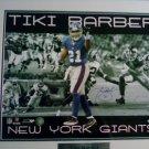 Tiki Barber NFL New York Giants Signed 16x20 Framed Limited Edition ???/2000 Steiner COA