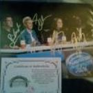 American Idol Judges Autographed Unframed 8x10 Photo X4 Ellen, Simon Cowell, +2 W/COA