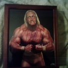 Hulk Hogan Pumped Up Autographed & Unframed 8x10 Photo WWE SuperStar W/COA