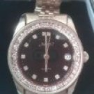 Xavier Gold Tone Diamond Men's Watch W/Date Beautiful