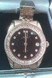Xavier Gold Tone Diamond Men's Watch W/Date Beautiful