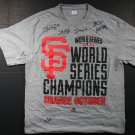 Rare 1/1 2014 San Francisco Giants Multi Autographed World Series Champions Shirt