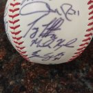 Team Signed Baseball by x13 Las Vegas 51s Baseball team