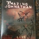 Autographed CD Cover w/CD Signed by The Amazing Johnathan & Psychic Tanya