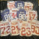 NFL Auto Jersey lot x12 NEW YORK GIANTS SB Champs JSA/GAI Manning Tyree Manningham +8 +BONUS