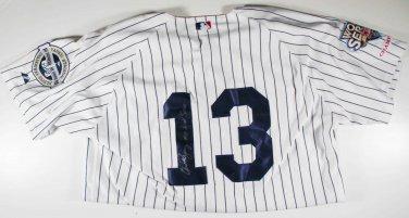 Alex Rodriguez Autographed 2009 Inaugural WSC New York Yankees  World Series Baseball Jersey