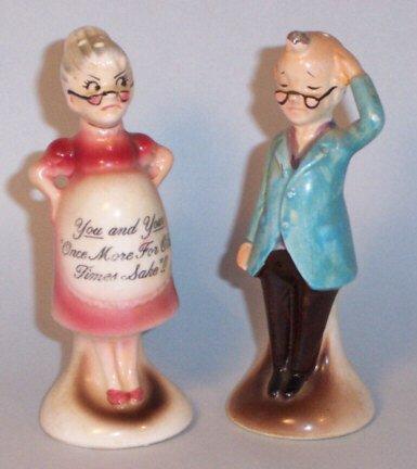 Grandma & Granpa salt & pepper