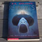 Animorphs Remnants The Mayflower Project by KA Applegate
