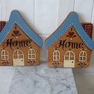 "2-pc wood ""HOME"" wall decor"