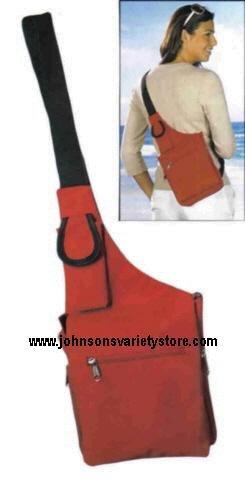 Vivid Messenger Bag - Red
