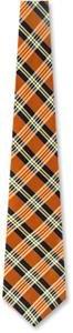 Embry Executive by Principessa orange silk ties