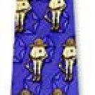 Trooper Smart Ass Novelties blue ice silk ties - NEW!