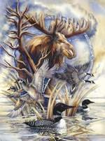 MasterPieces Puzzle / Jody Bergsma / ON GOLDEN POND