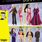 Simplicity 7073 11 1/2 Inch Fashion Dolls for Dummies
