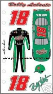Nascar BOBBY LABONTE #18 Interstate Sticker Decal #7