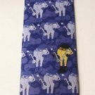 Biker Smart Ass blue silk tie Brand New!