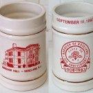 Borough of Roseland 75th Anniversary Stein 1908-1983