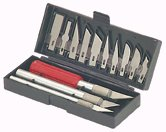 13 PC. PRECISION KNIFE KIT Hobby / crafts New!