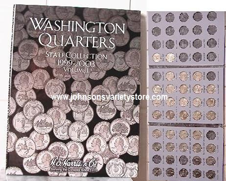 Washington Quarters (2004) book +37 quarters