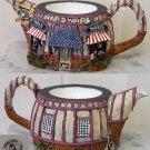 "HomeTown Cottage Ceramic Teapot ""Hardware"""