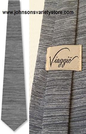Roister by Royal Knight / Vaiggio silver silk tie