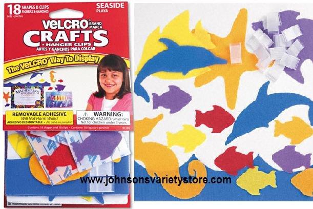 Velcro® SEASIDE Display Shapes - Crafts