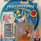 MEGAMAN NT Warrior TourchSoul Figure & Battlechip NEW!