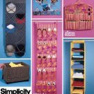 Simplicity 5124 Simply Teen Room Organizers pattern
