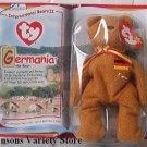 TY TEENIE BEANIES - Germania the Bear - Germany