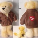 TY ATTIC TREASURES BARON THE BEAR 2000 retired