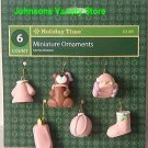 Baby Girl Miniature Ornaments (6)