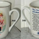 Norman Rockwell Museum Mug The First Day of School 1986