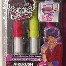 STYLE SIX AIRBRUSH STYLE PACK Red/Yellow/Fushia New