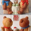 Party Bears #3427 Bear Couple Figurine by Wallace Berrie