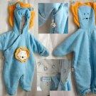 Miniwear Infant 3-6mo Lion winter outerwear coat