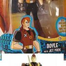 Secret Saturdays Action Figure Doyle with Jet Pack New