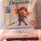 WENDYS TALE OF DESPEREAUX TIE-TAC-TOE Game meal toy