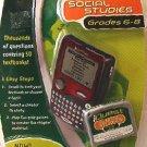 iQuest Leap Frog cartridge Social Studies - Grade 6 - 8