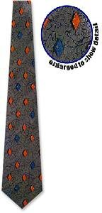 Sovereign by Keith Daniels charcoal silk tie