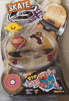 """Gx Racers Skate Finger Board """"Rocky Road"""" Gyro Power"""
