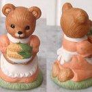 HOMCO - HOME INTERIOR Collectible 1463 Mom bear w/ corn