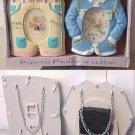 NICETY BABY INFANT PHOTO FRAME AND MATCHING CLOCK SET DECOR