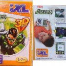 Fisher price iXL Learning System Game Green Lantern w/ 3D Game & Glasses - NEW